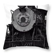 Vintage Train 90 Throw Pillow