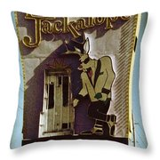 Vintage Vegas Throw Pillow