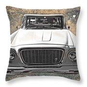 Vintage Vehicle Throw Pillow