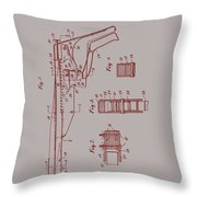 Vintage Veterinary Castrating Instument Throw Pillow