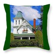 Vintage Victorian Throw Pillow