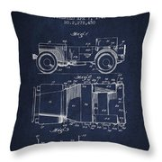 Vintage Willys Jeep Patent From 1942 Throw Pillow