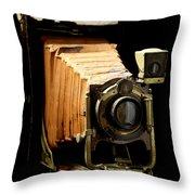 Vintaged Canadian Kodak Camera Throw Pillow