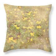 Viola Field Throw Pillow