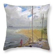 Viola In Virginia Beach Throw Pillow