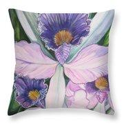 Violet Adventures Throw Pillow