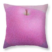 Violet Apple Throw Pillow