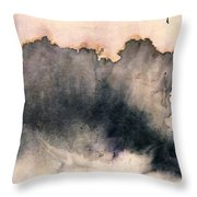 Violet In The Sky #2 Throw Pillow