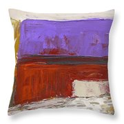 Violet Roof Throw Pillow