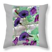 Violet Vine - Photopower 326 Throw Pillow