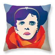 Violetta Of La Traviata Throw Pillow