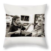 Violin Ensemble Throw Pillow