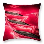 Viper Gills Throw Pillow