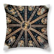 Virgin And Child Throw Pillow