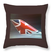 Virgin Atlantic Winglet Throw Pillow