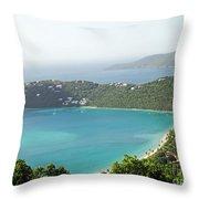 Virgin Islands Throw Pillow