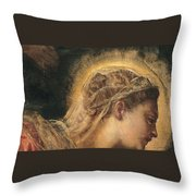 Virgin Mary  Throw Pillow