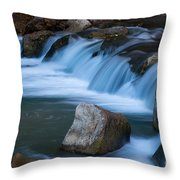 Virgin River Rapids Throw Pillow