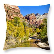 Virgin River - Zion Throw Pillow