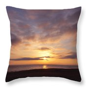 Virginia Beach Sunrise Throw Pillow