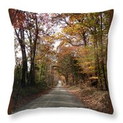 Virginia Countryside Throw Pillow