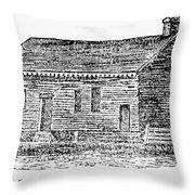 Virginia Court House Throw Pillow