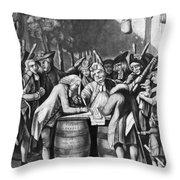 Virginia Loyalists, 1774 Throw Pillow