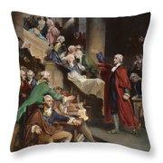 Virginia: Patrick Henry, 1765 Throw Pillow