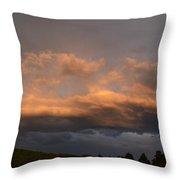 Virginia Skies Throw Pillow