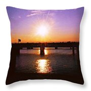 Virginia Sunset Throw Pillow