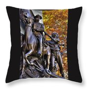 Virginia To Her Sons At Gettysburg - War Fighters - Band Of Brothers 1b Throw Pillow