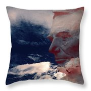 Vision Throw Pillow by Gabe Arroyo