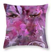 Vision Of Joy Throw Pillow
