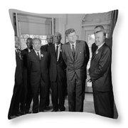 Visionaries Throw Pillow by Benjamin Yeager