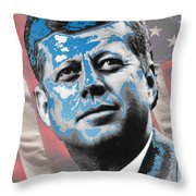 Visionary Throw Pillow by Jimi Bush