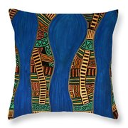 Visionary Track Throw Pillow