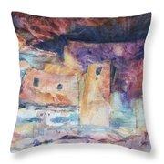 Visions Of Mesa Verde Throw Pillow