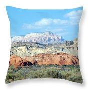 Visions Of Utah Throw Pillow