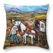 Visit The In-laws Throw Pillow