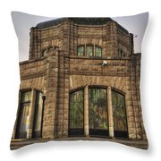 Vista House Throw Pillow