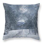 Visual Quiet Throw Pillow