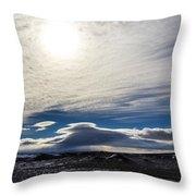Visus Obscuratur Throw Pillow