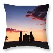 Vitaleta Chapel - Tuscany - Italy Throw Pillow