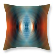 Vitality - Energy Abstract Art By Sharon Cummings Throw Pillow