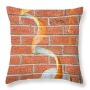 Vitamin C Wall Throw Pillow