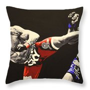 Vitor Belfort Kick Throw Pillow