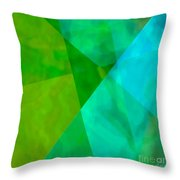 Vitreosity Throw Pillow by ME Kozdron