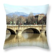 Vittorio Emanuele I Bridge Throw Pillow