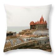 Vivekananda Memorial Throw Pillow