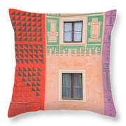 Vivid Decorations Throw Pillow